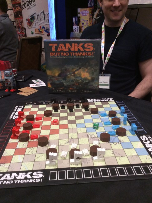 Starting a game of Tanks, But No Thanks at Breakout 2019