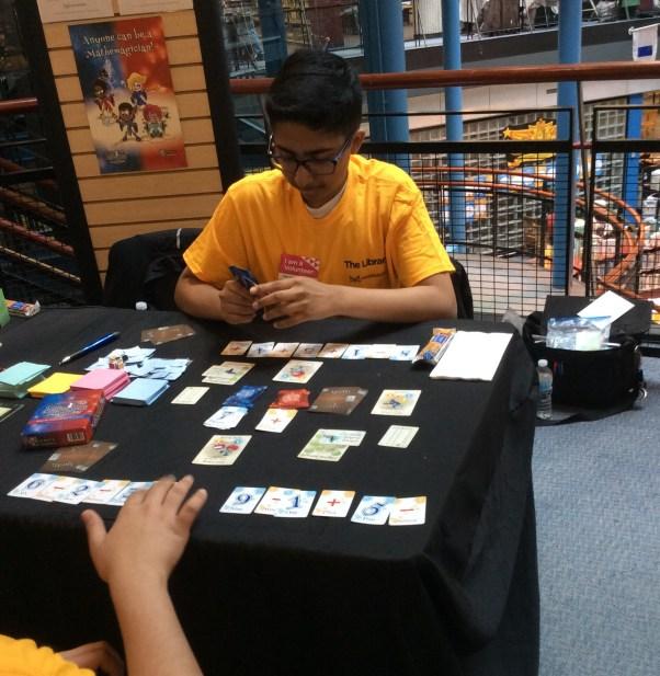 Volunteers play MD