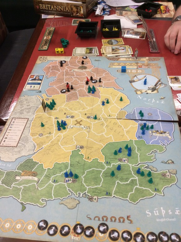 Playing 878 - Vikings.