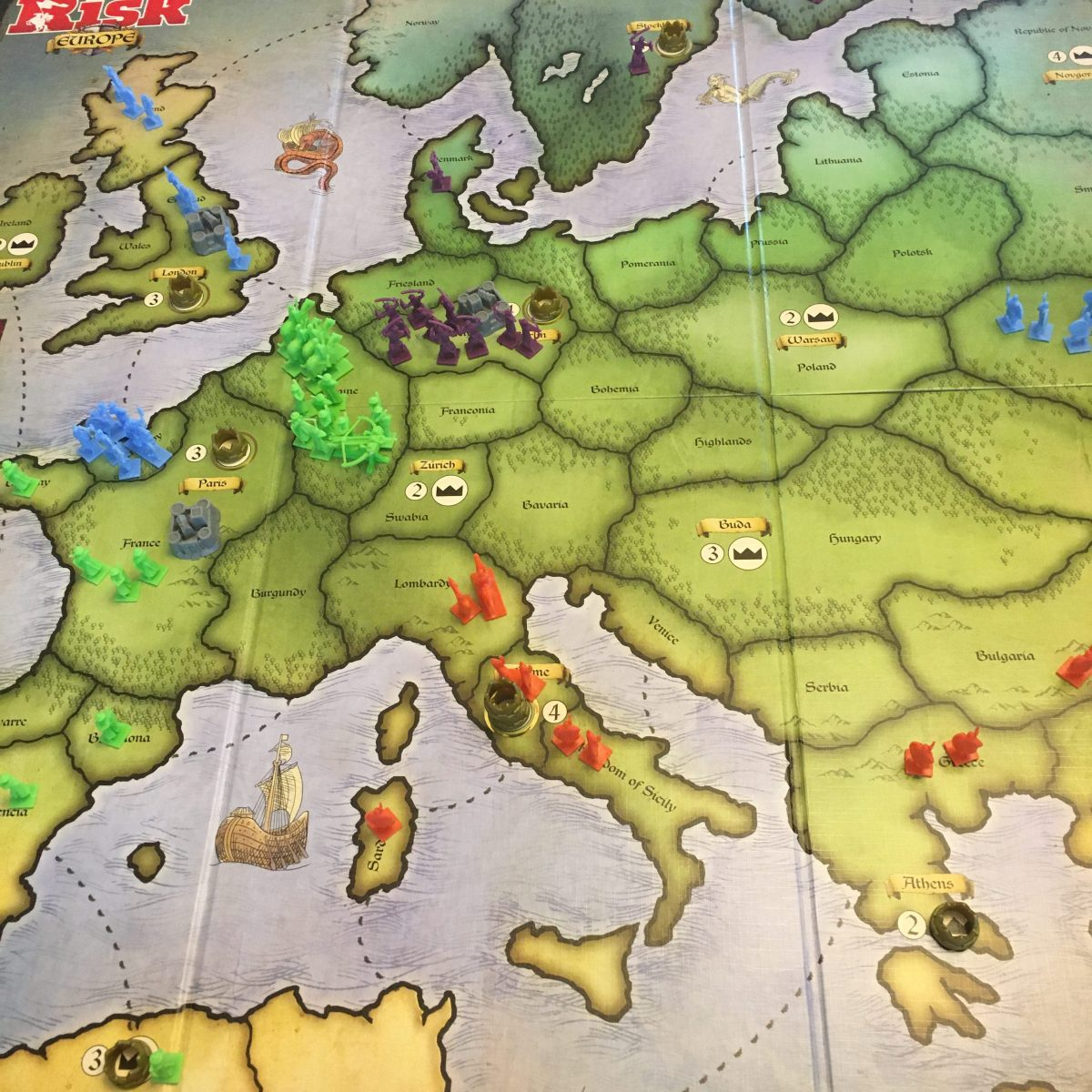 Turn 3 - Where'd all those green troops come from?