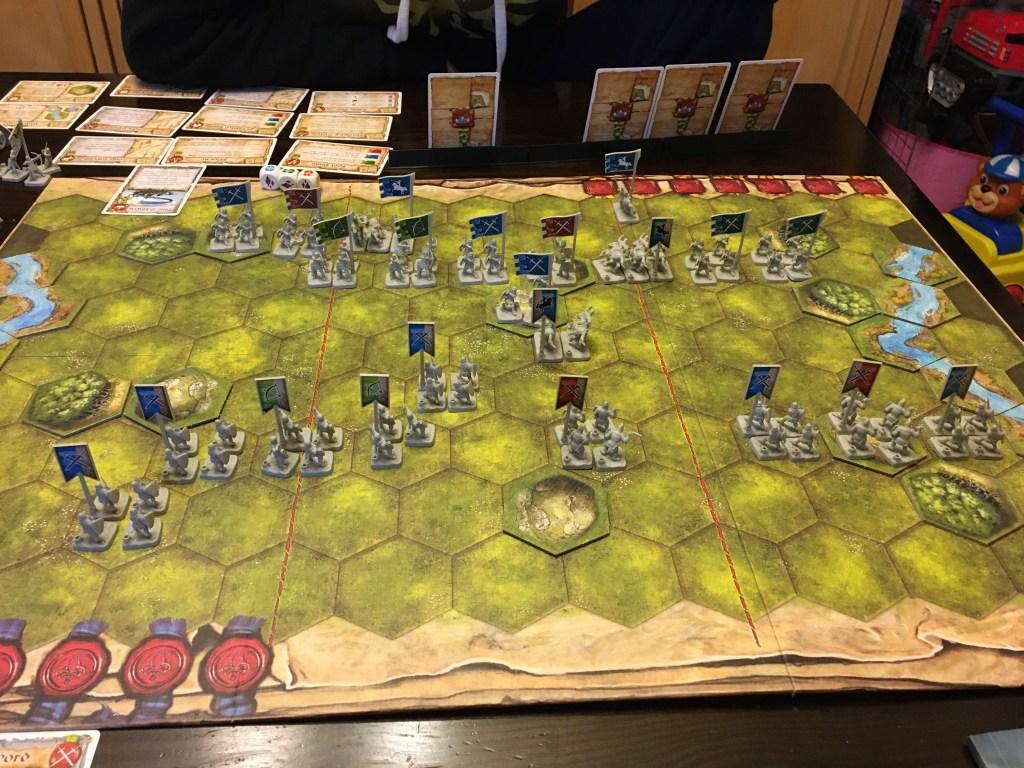 Second scenario of BattleLore