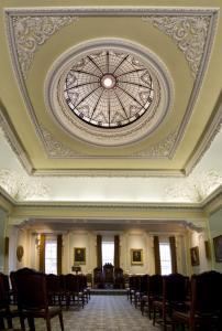 Playfair Hall ceiling