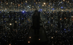 yayoi kusama opens at the ago take your selfie but take the time to be present 1