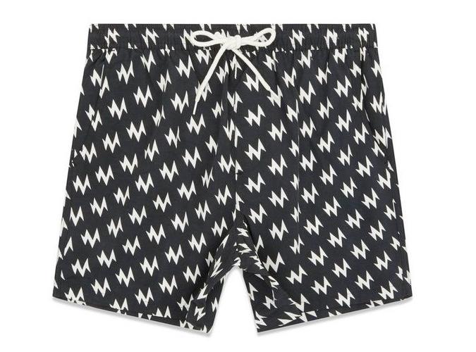 New Look Zig-Zag Swim Shorts