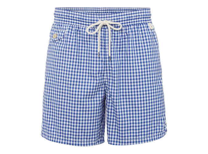 Polo Ralph Lauren Gingham Swim Shorts