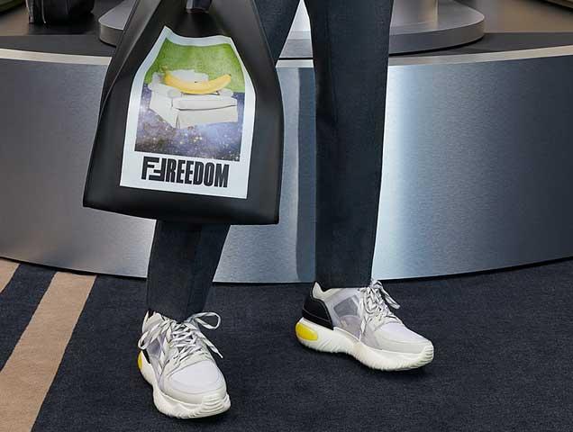 Fancy' Sneakers Are Genderless