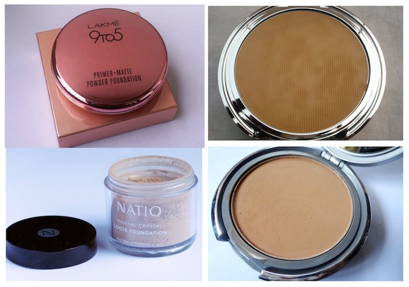 Powder foundations available in India