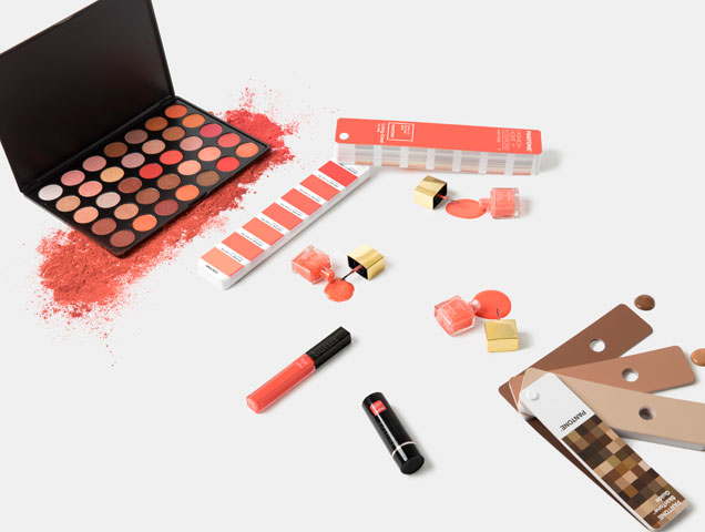Cosmetics in Living Color, Pantone's 2019 color of the year
