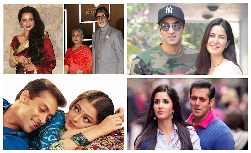 Famous Real Life Bollywood Love Triangles