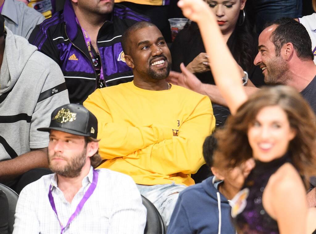Kanye West, Laker Game