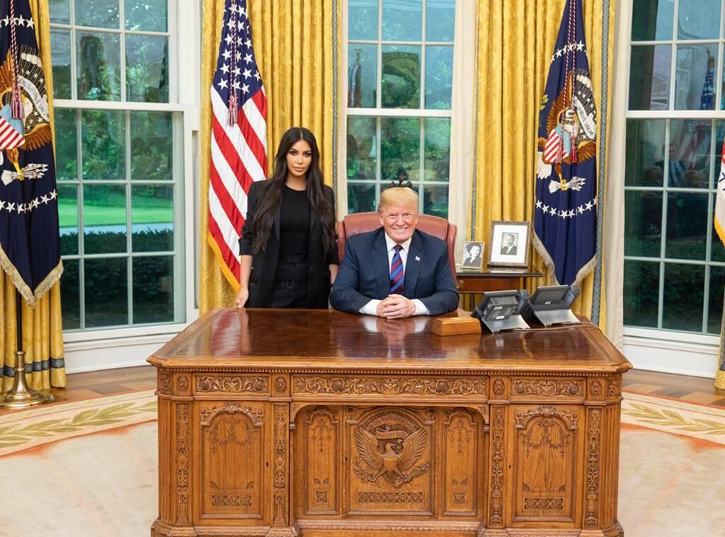 Kim Kardashian, Donald Trump, White House
