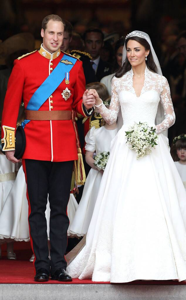 Prince William, Kate Middleton, Duchess Catherine, Wedding, Iconic Celeb Photos
