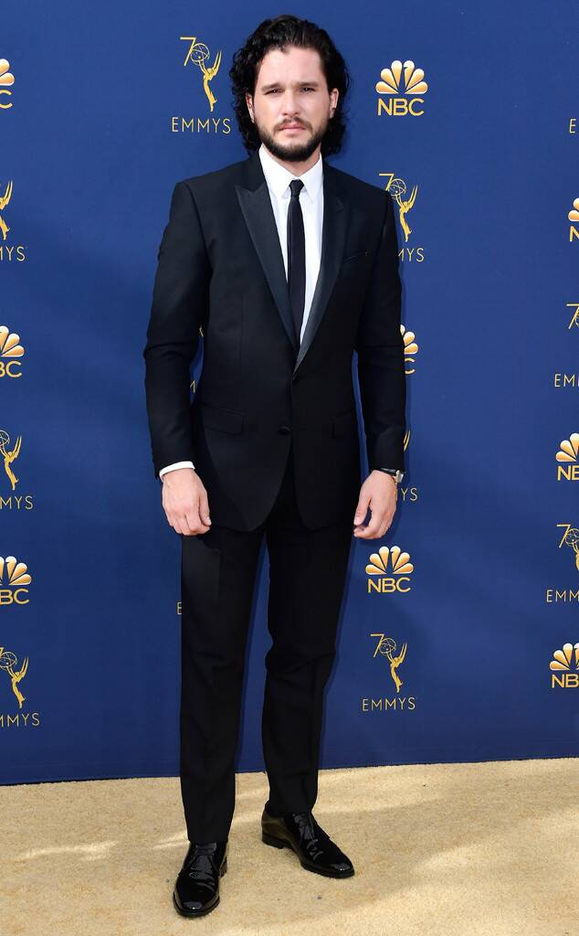 Kit Harington, 2018 Emmys, 2018 Emmy Awards, Red Carpet Fashions