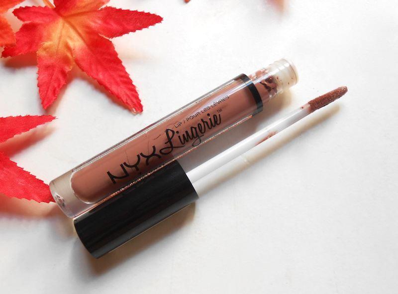 NYX Lip Lingerie Liquid Lipstick Cashmere Silk tube