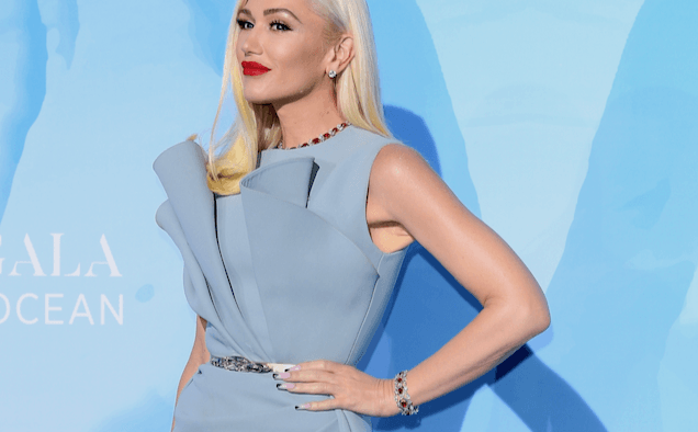 Gwen Stefani Fashion Icon Award landscape cropped