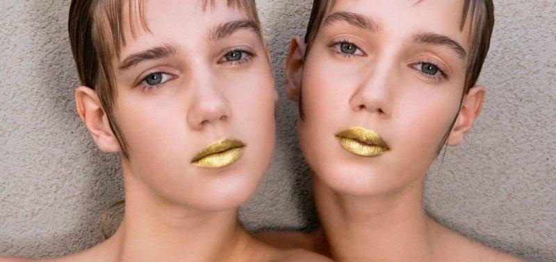 prada spring beauty metallic gold lipstick Marquee landscape cropped