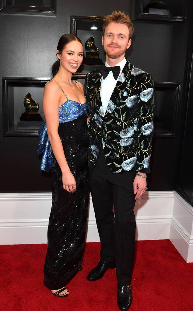 2020 Grammys, Grammy Awards, Couples, Claudia Sulewski, Finneas O'Connell