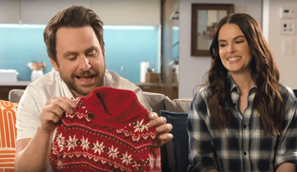 Charlie Day, Emily Hampshire, Tide, Super Bowl 2020, Ad