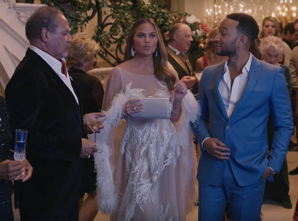 Chrissy Teigen, John Legend, Super Bowl 2020 Ad