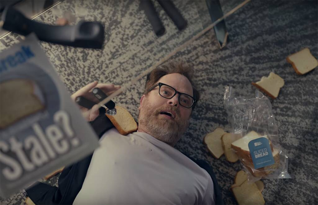 Rainn Wilson, Little Caesars, Super Bowl 2020, Ad