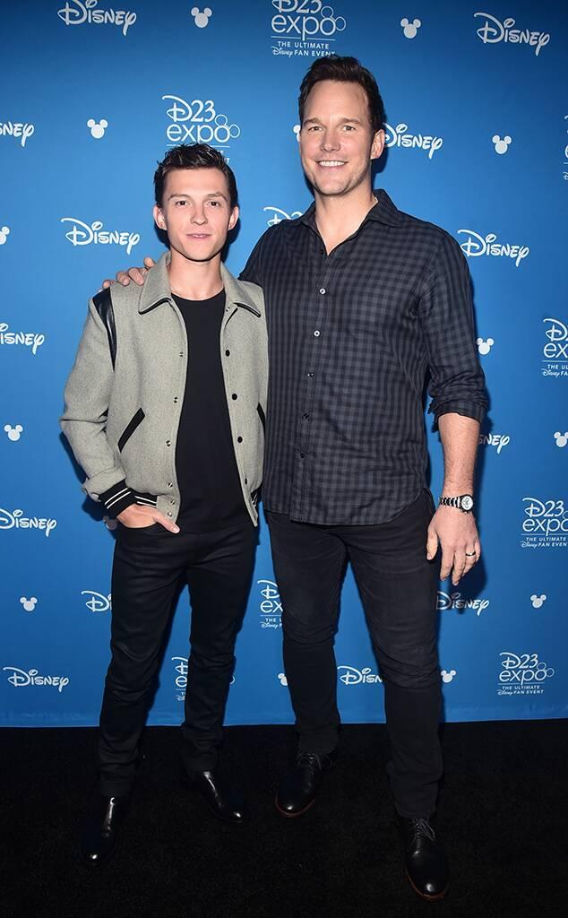 Tom Holland, Chris Pratt