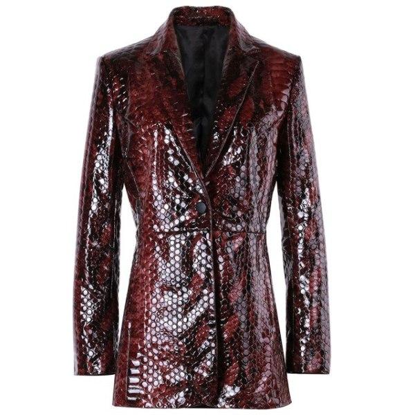 YOLOAgain-Snake-Print-Elagant-Slim-Genuine-Leather-Blazer-Jacket-Women-Ladies