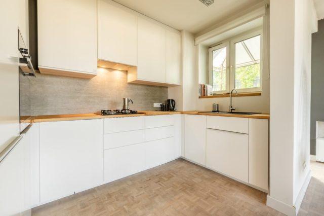 Mieszkanie kuchnia w nowoczesnym stylu