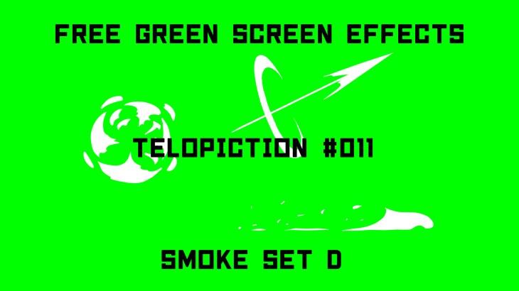"【No.011】""Smoke set D""スモークセットD/フリー素材/グリーンスクリーン/Free Green Screen Effects"