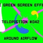 "【No.042】""Around Airflow"" 回ってはじける気流/フリー素材/グリーンスクリーン/Free Green Screen Effects"