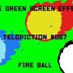 "【No.067】""Fire ball"" 火玉/フリー素材/グリーンスクリーン/Free Green Screen Effects"
