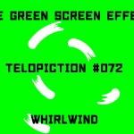 "【No.072】""Whirlwind"" 旋風/フリー素材/グリーンスクリーン/Free Green Screen Effects"