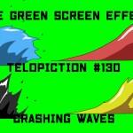 "【No.130】""Crashing waves"" ザブン!/フリー素材/グリーンスクリーン/Free Green Screen Effects"