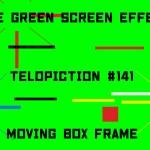 "【No.141】""Moving box frame"" 吹き荒れる風/フリー素材/グリーンスクリーン/Free Green Screen Effects"