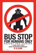 district 9 BUS STOP