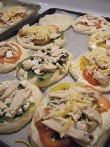 Foccacia Bread Pizza | bsinthekitchen.com