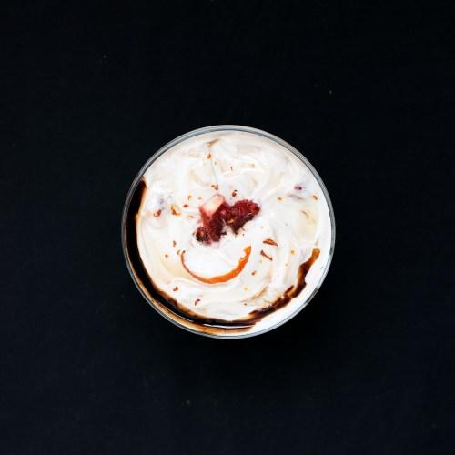 Blood Orange Greek Yogurt with Chocolate Balsamic Vinegar | bsinthekitchen.com #breakfast #dessert #bsinthekitchen