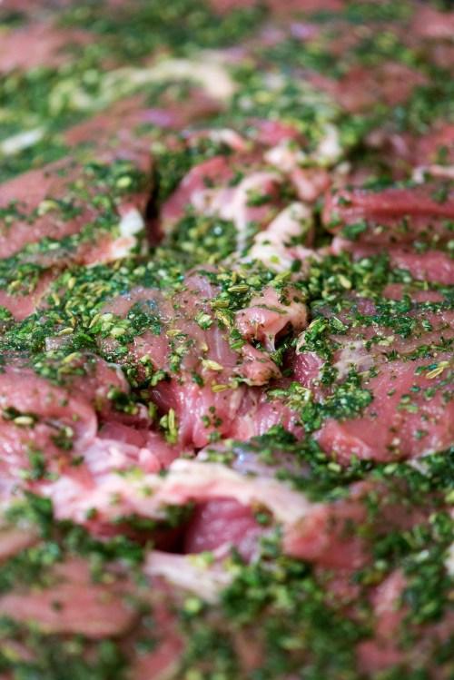 Porchetta Pork Shoulder   bsinthekitchen.com #porchetta #pork #bsinthekitchen