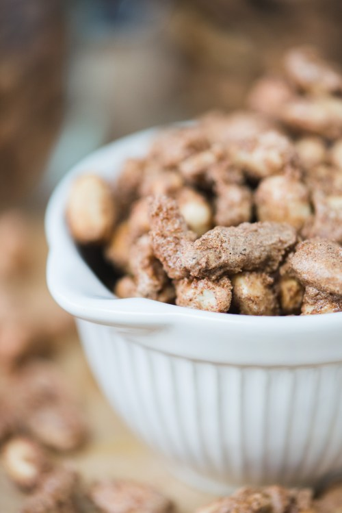 Candied Nuts   bsinthekitchen.com #appetizer #snack #bsinthekitchen