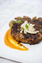 Fennel Crusted Pork Chop | bsinthekitchen.com #pork #dinner #bsinthekitchen