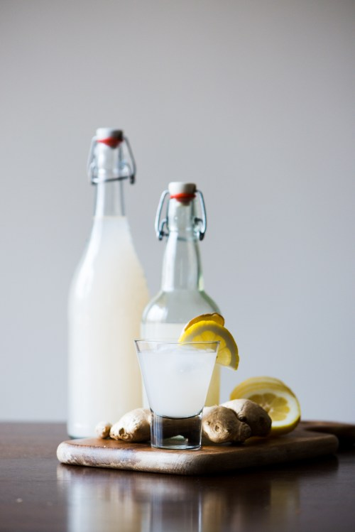 Homemade Ginger Beer   bsinthekitchen.com #gingerbeer #ginger #bsinthekitchen