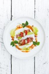 Garden BLT | bsinthekitchen.com #BLT #Bacon #bsinthekitchen