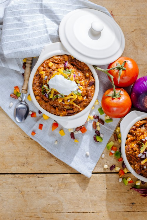 Slow Cooker Chili | bsinthekitchen.com #slowcooker #chili #bsinthekitchen