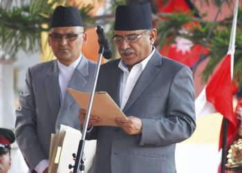 Nepal's ruling party facing uncertain future, claims co-chair Prachanda