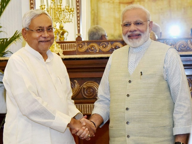 Nitish Kumar alliance with BJP
