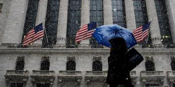 Wall Street gains on strong services sector data; Dow, S&P rise over 1%
