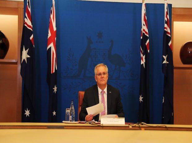 Banning Aussies in India from returning home a new low for Scott Morrison