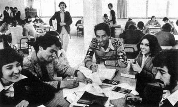 Kabul University 1980s