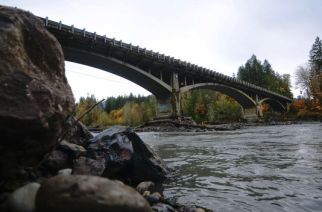 Elwha River Bridge (Photo: Jesse Major, AP)