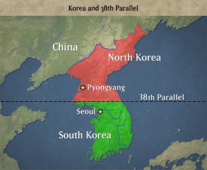 N_S_korea_map
