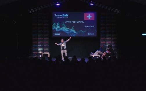 FameLab 2018: Our Swiss Winner was up to the International Final!